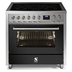 sale Steel Enfasi E9f Kitchen Cm. 90 - Anthracite 1 Oven