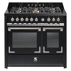 sale Steel Oxford X10ff The Kitchen Beside Cm. 100 - Black Smoke 2 Electric Ovens