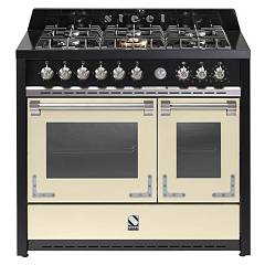 sale Steel Oxford X10ff The Kitchen Beside Cm. 100 - Cream 2 Electric Ovens