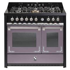 sale Steel Oxford X10ff The Kitchen Beside Cm. 100 - Amethyst 2 Electric Ovens