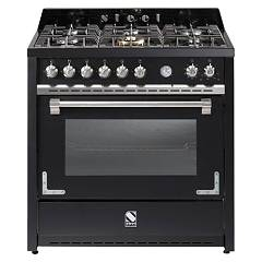 sale Steel Oxford X9f The Kitchen Beside Cm. 90 - Black Smoke 1 Oven