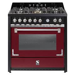 sale Steel Oxford X9f The Kitchen Beside Cm. 90 - Bordeaux 1 Oven
