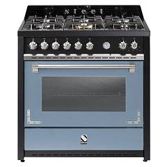 sale Steel Oxford X9f The Kitchen Beside Cm. 90 - Sky Blue 1 Oven