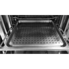 Steel Sa-l9v Perforated steel grill for steam cooking for oven cm. 90