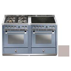 Steel A14sf-44i Kitchen from accosto cm. 140 - sand 2 electric ovens - 4 burners + induction hob Ascot