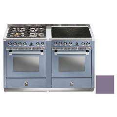Steel A14sf-44i Kitchen from accosto cm. 140 - ametist 2 electric ovens - 4 burners + induction hob Ascot