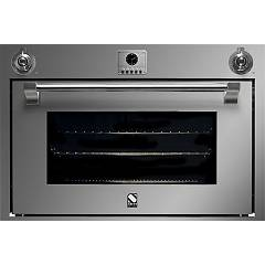 Steel Afe9-s Built-in oven cm. 90 x 60 combined steam - stainless steel interior Ascot