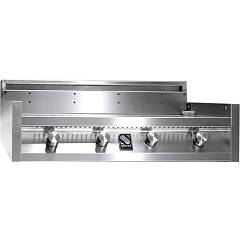 Steel I9-4 Barbecue cm. 90 - 4 burners - stainless steel Green - Top