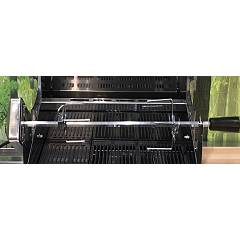 Steel Ab-ga9 Rotisserie for barbecue - stainless steel - 90 cm