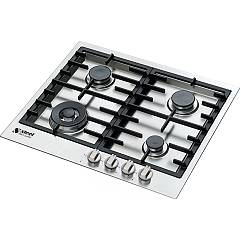 Steel Gp6b-4 Recessed cooking top cm. 60 - inox Genesi Line