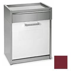 Steel Gls-7 Dishwasher block cm. 70 - bordeaux Genesi