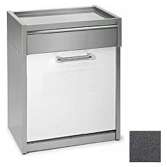 Steel Gls-7 Dishwasher block cm. 70 - anthracite Genesi