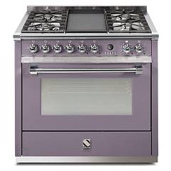 sale Steel Ascot A9s Kitchen Cm. 90 Amethyst - Oven Combined With Steam