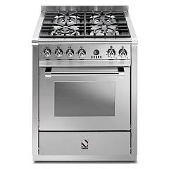 Steel A7s Kitchen cm. 70 inox - steam combined oven Ascot