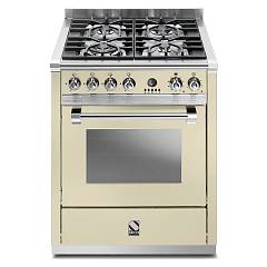 sale Steel Ascot A7f Kitchen Cm. 70 Cream - Multifunction Oven,