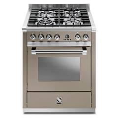 sale Steel Ascot A7s Kitchen Cm. 70 Sand - Oven Combined With Steam