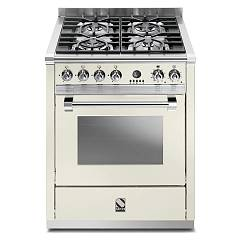 Steel A7s Kitchen cm. 70 nuvola - steam combined oven Ascot