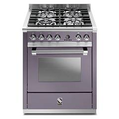 sale Steel Ascot A7s Kitchen Cm. 70 Amethyst - Oven Combined With Steam