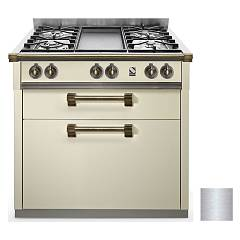 Steel A9c Professional cooking center cm. 90 - inox Ascot