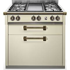 sale Steel Ascot A9c Cooking Centre Professional Cm. 90 - Cream