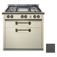 Steel A9c Professional cooking center cm. 90 - anthracite Ascot