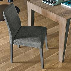 Target Point Se514 - Lucerna Chair in wood and eco-leather