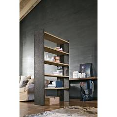 Target Point Pp119 - Linear 90 Wooden and metal bookcase