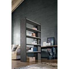 Target Point Pp120 - Linear 120 Wooden and metal bookcase