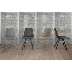 Photos 2: Target Point SE190 - MAIORCA Chair in metal and eco-leather