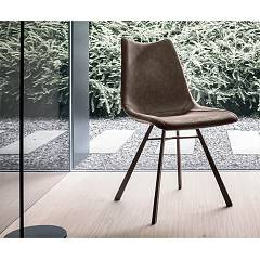 Target Point Se190 - Maiorca Chair in metal and eco-leather