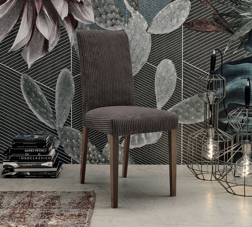 Photos 1: Target Point SE519 - BARCELLONA Chair in wood and microfibre
