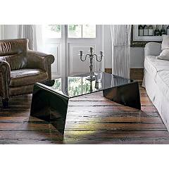 Target Point Tlc16 - Argon Fixed glass coffee table l. 110 x 65
