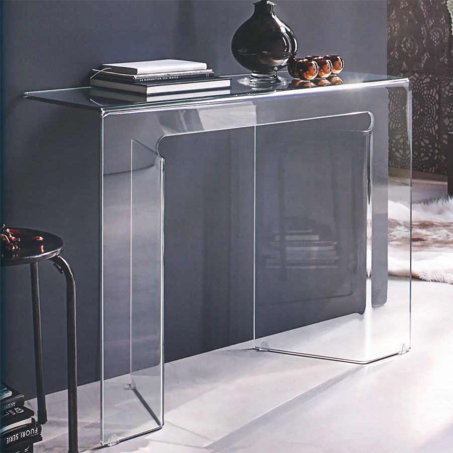 Photos 1: Target Point Fixed glass console l.100 x 35 COC05 - SAGITTA