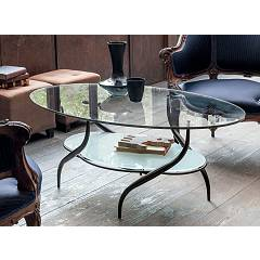 Target Point Tl108 - Giotto Fixed table l. 110 x 65 oval