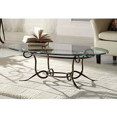 Target Point Tl151 - Achille Fixed table l. 110 x 65 oval