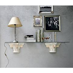 sale Target Point Ml3z2 - Acropoli Shelf In Ceramics And Glass Cm 150