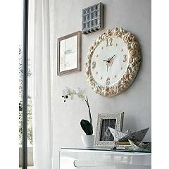 Target Point Or3z3 - Rose Clock wall ceramic d.52
