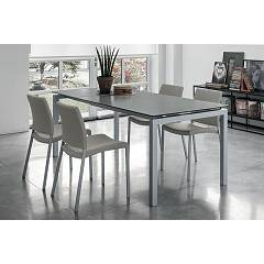 Target Point Ta114 - Auriga 140 Extendible table l. 140 x 90 glass top