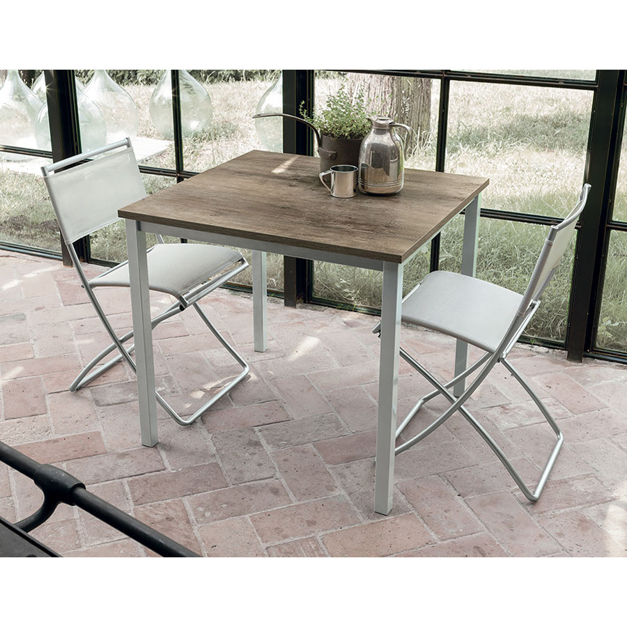 Photos 1: Target Point Fixed square table l. 85 x 80 TP152 - TUCANO 85