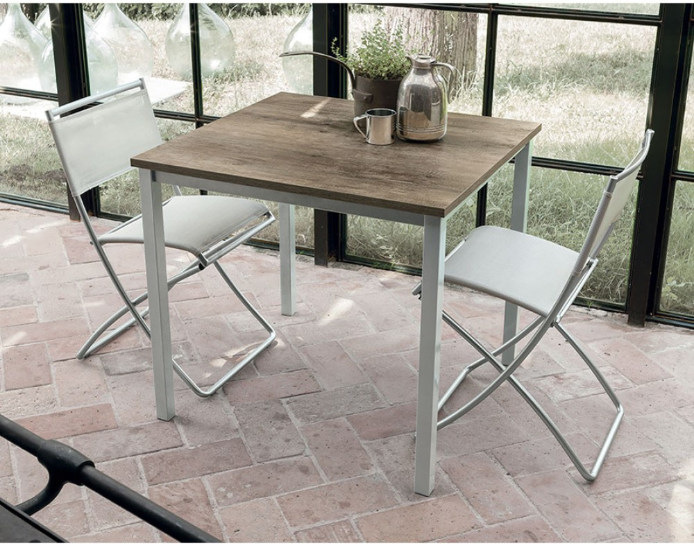 Photos 1: Target Point TP152 - TUCANO 85 Fixed square table l. 85 x 80