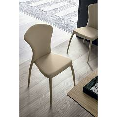 Target Point Se605 - Monaco Stackable chair covered in eco-leather