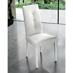 Target Point Se503 - Zurigo Chair in wood and eco-leather