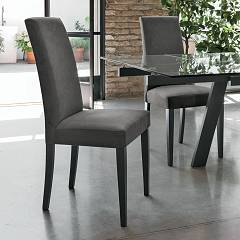 Target Point Se504 - Lugano Chair in wood and microfibre