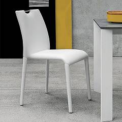 Target Point Se611 - Friburgo Stackable chair covered in eco-leather