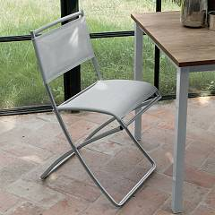 Target Point Se144 - Yuppie Pieghevole Folding chair in metal and plastic network