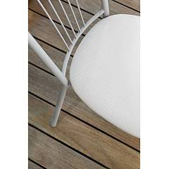 Photos 3: Target Point Chair in metal and net / eco-leather / straw SE104 - GARDA