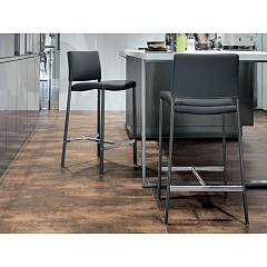 Target Point Sg171 - Zara Stool in metal and eco-leather