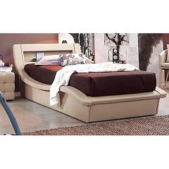 Target Point Sb447 - Sardegna Single bed padded with container