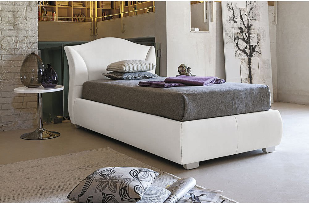 Target Point SD438 - MADDALENA Single bed padded with container ...