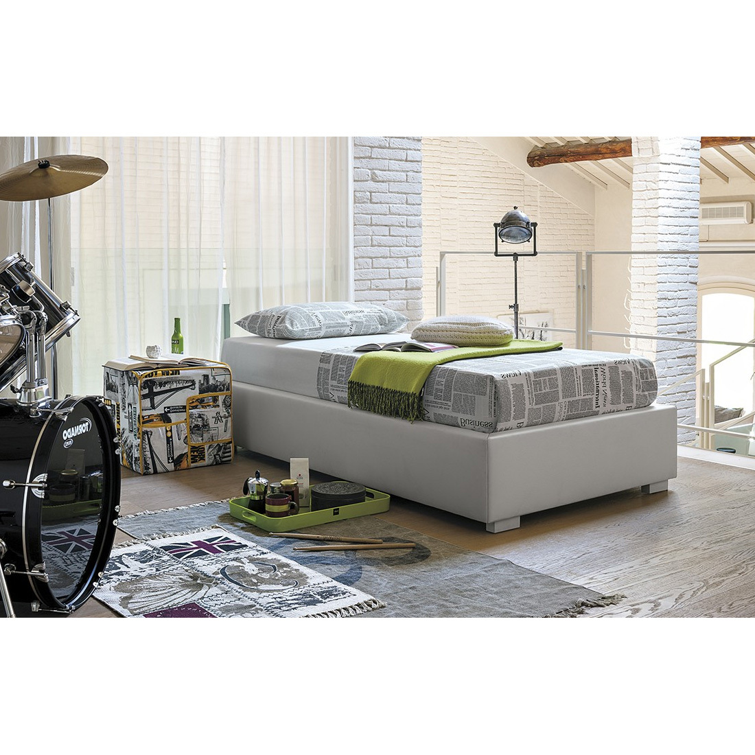Photos 2: Target Point Single padded bed SD451 - SOMMIER